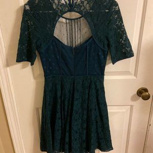 Dark Green BCBG Dress